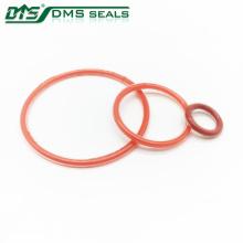 piezas del inyector de combustible junta de goma anillo de silicona clara y roja