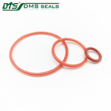 fuel injector parts rubber gasket clear and red silicone o ring