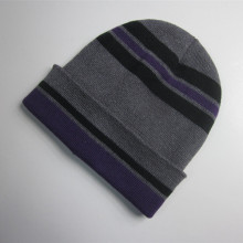 Cheap Striped Cuff Beanie Wholesale