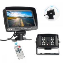 Kit de exibição de monitor reverso de câmera de backup 1080P