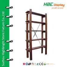 Wood ladder shelf wood ornament shelf rustic wooden shelf