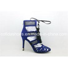 Neueste sexy High Heel Frauen Sandale mit charmanten Tesseln