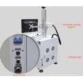 Máquina de corte portátil do laser da fibra do passatempo 30w para o preço do metal