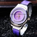 2017 nova moda cristal mulheres pulseira pulseira de relógio