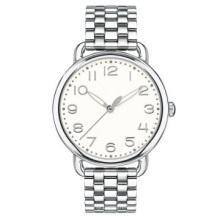 Reloj de cuarzo de las señoras de moda casual clásico