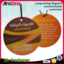 Promotion cheap print paper air freshener brands