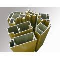 Material de construcción Aluminio Perfil de puerta Extrusión de aluminio