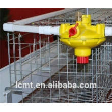 Backwash water line pressure reducing valve for chicken