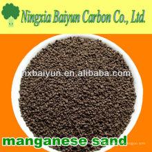 Sable de manganèse pour le traitement de l'eau