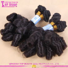 Wholesale unprocessed aunty funmi human hair 6a grade 8-30inch russian aunty funmi hair bouncy curls