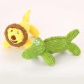 Cord-Plüsch-Lende und Krokodil-Haustierspielzeug