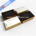 Eco-frinedly офсетная печать роскошных пользовательских визитных карточек