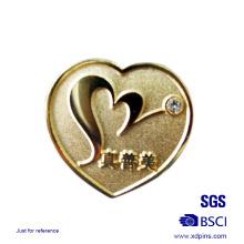 Die Struck Liebhaber Herz Anstecknadel Crytal Abzeichen Paar Anstecknadel