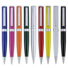 twist action aluminum ballpen