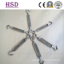 Turnbuckle Stainless Steel 316 Nickel 10%-12%, European Type, JIS Type, DIN1480, DIN1478, Us Type Forged Turnbuckle