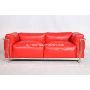 Le Corbusier LC3 Sofá 2 lugares Loveseat