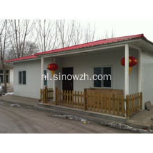 Prefab Homes installeren door Sandwich Panel