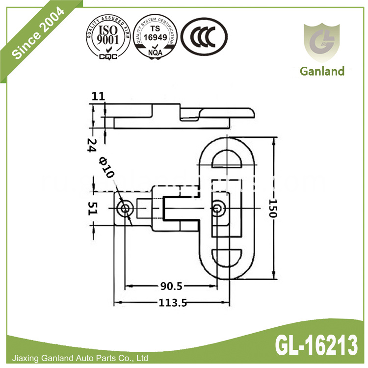 Heavy Duty Folding Step gl-16213