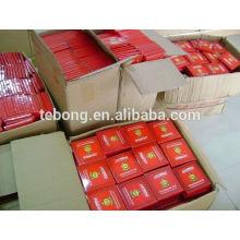 0,02 mm Accessoires de fumée Hookah shisha charbon de bois grillé en aluminium papier d'aluminium