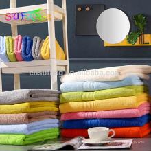 China fabricante barato atacado rosto e toalhas de banho de algodão