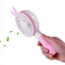 Portátil de mano Mini USB Personal Cooling Rabbit Fan