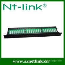 Cat6 90 Degree Krone 1U 48 Port Patch Panel
