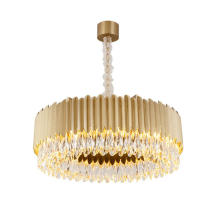 Luxury crystal pendant lights chandeliers for hotel lobby