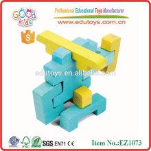 Los niños buenos juego inteligente de madera aclarar juguetes de ladrillo