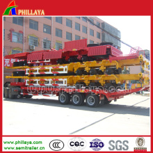 3 Achsen Skeletal Chassis 40FT Cimc Container Skelett Semi Trailer