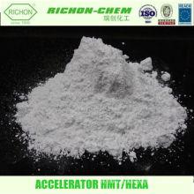 Caucho Procesamiento Productos Químicos Agente de vulcanización Fabricación 100-97-0 HEXAMETHYLENE TRIAMINE Acelerador de goma HMT