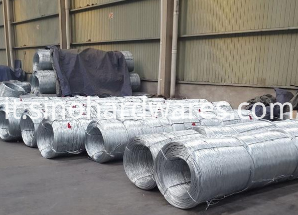 small coil electro galvanized steel wire