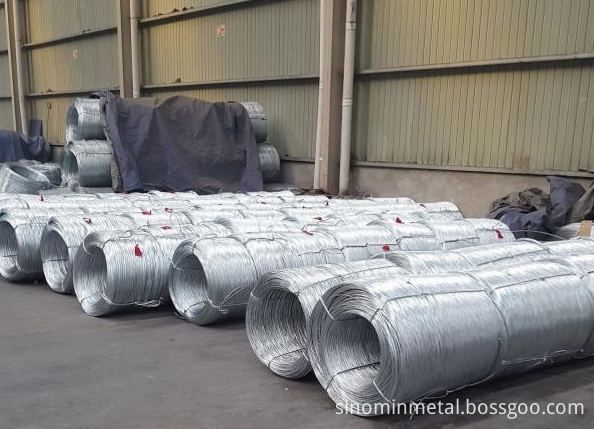 big coil galvanized wire