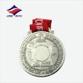 Zink-Legierung Jubiläum Souvenir Metall Runde Medaille