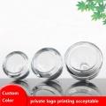 Triangle glass dropper bottle/ essence oil bottle
