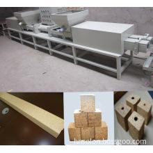 hydraulic wood sawdust block hot press machine
