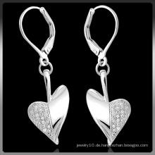 Mode Silber Ohrringe mit CZ Stein (Q-3996)
