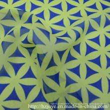 Impression en polyester mousseline