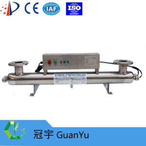 UV light for water sterilization