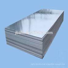 China fornecimento de chapa de alumínio de 5mm de espessura de papel intercalado