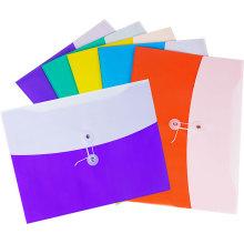 Двойной Цвет файл мешок с хлопчатобумажной ленты