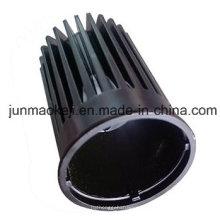Dissipador de calor LED para trabalho de lâmpada usado