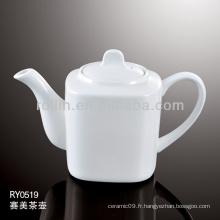 L'hôtel et le restaurant ont utilisé des potettes de thé 700ml