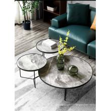 Ensemble de table basse en céramique