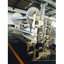 Telar de alta velocidad del jet de agua para la tela de Polyster