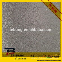 Direct manufacturers orange peel embossed aluminum sheet