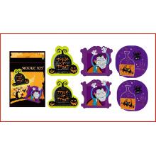 diy EVA kids number craft kit etiquetas de mosaico