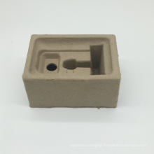 Green environment-friendly gray paper pulp tray
