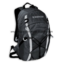 Fashion Grey 420d Ripstop Nylon Outdoor Backpack Bag