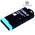 Papierdatenkabel-Verpackungsbox mit einem Haken