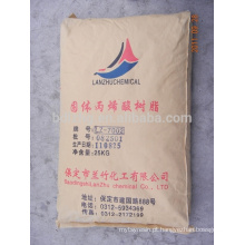 Resina acrílica sólida solúvel em água LZ-7002